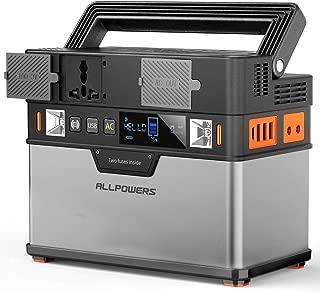 ALLPOWERS 372Wh/105000mAh Generador Inverter, Generador Port