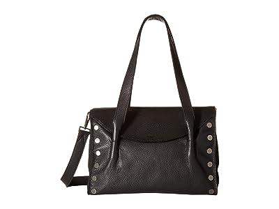 Hammitt Shawn Medium (Black/Gunmetal) Handbags