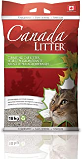 Cat litter clumping for toilet use Canada Litter 18KG – Unscented
