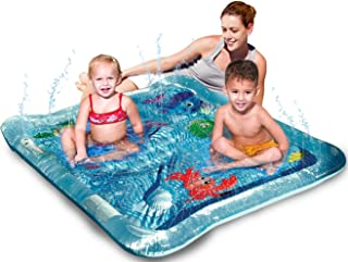Bundaloo Kiddie Squirt Pool for Babies, Toddlers and Kids | Baby Splash Pad and Play Mat for Outdoor Fun | Best for Cooling Children in a Hot Summer | Perfect for Games, Backyard Activity, or a Party