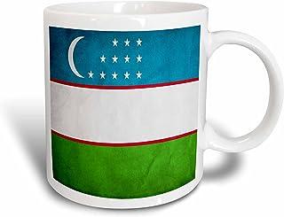 mug_31604_1 Flags - Uzbekistan Flag - Mugs - 11oz Mug