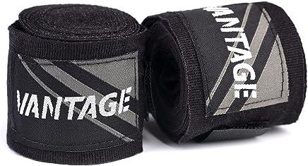 Boxbandagen,Wickelbandagen Kampfsport Black Vantage Handbandagen Combat