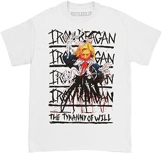 Iron Reagan - The Tyranny of Will T Shirt White