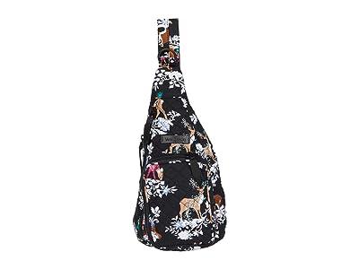 Vera Bradley Mini Sling Backpack (Merry Mischief) Backpack Bags