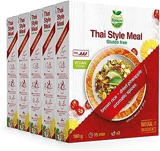 Veggie&Nature - Mezcla vegana sin gluten al estilo tailandés (5 x 180 g)