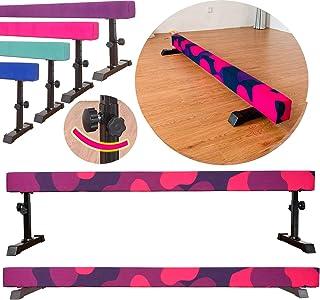 تجهیزات تمرین تمرین ژیمناستیک با تعادل قابل تنظیم با تیر Marfula 8 Feet برای کودکان در منزل