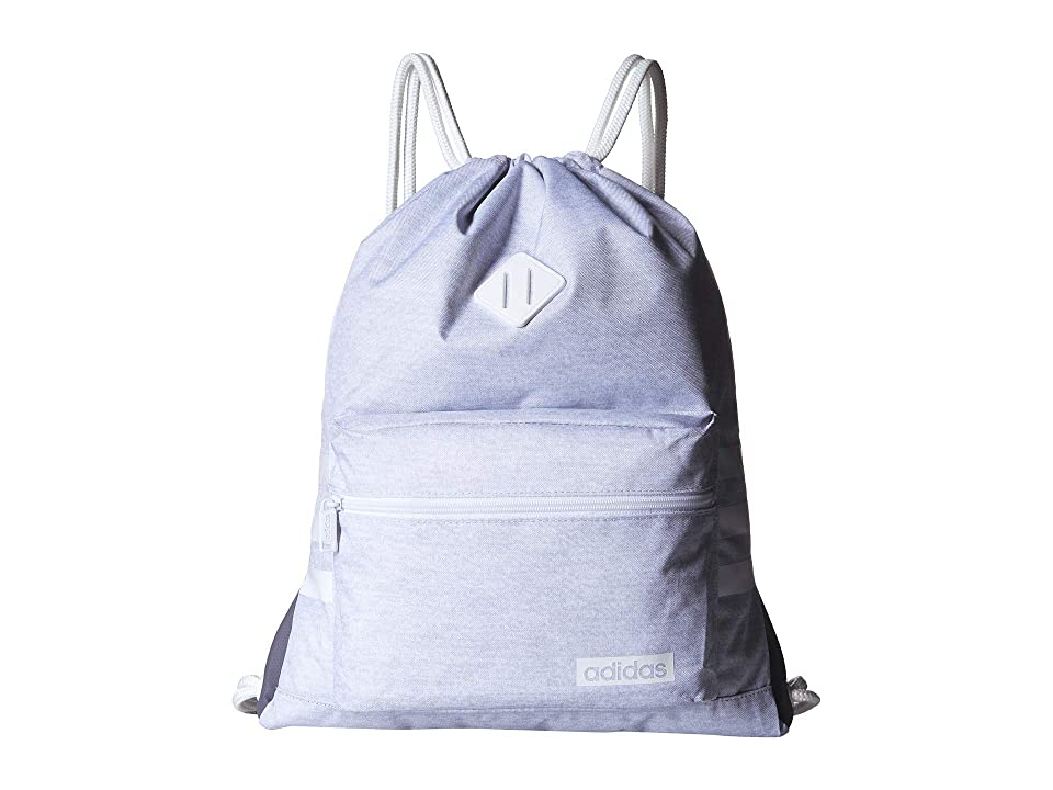 adidas Classic 3S Sackpack (White Jersey/White) Bags, Blue - buy ...
