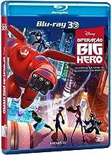 Blu-ray 3D Disney Operação Big Hero [ Big Hero 6 ] [ English + Brazilian Portuguese + Cantonese + Mandarin + Korean + Thai] [ Region A~