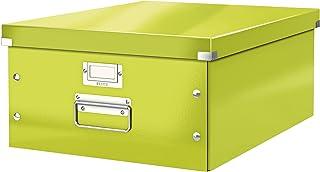 Leitz Wow Click & Store 60450064 Grande Boîte de Rangement A3 Vert