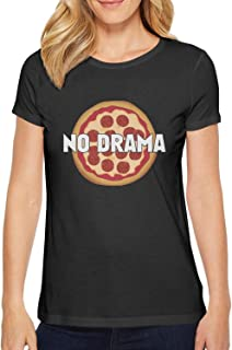 Pizza Letters No Drama Woman's t-Shirts