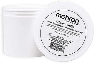 Mehron Makeup Clown White Professional Makeup (16 Ounce)