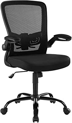 Modway Exceed Mesh Adjustable Swivel Computer Desk Office Chair In Black