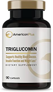Blood Sugar Lowering Supplement: Chromium, Vanadium, Gymnema Sylvestre, Alpha Lipoic Acid, Cinnamon, Other Blood Sugar Control Ingredients | Triglucomin Blood Sugar Stabilizer | 90 Veg Caps