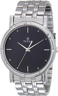 Titan Karishma Analog Black Dial Men's Watch NM1639SM02/NN1639SM02