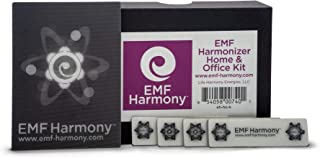 EMF Harmonizer Home & Office Protection from EMF Radiation in Your House or Workplace – Proven European Technology from EMF Harmony (Kit)