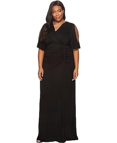 Black jacquard dress plus size