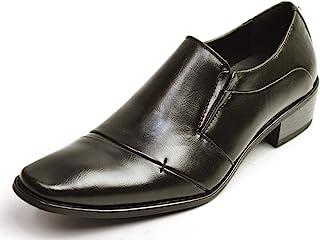 [ジーノ] シャドー加工デザイン ビジネスシューズ 靴 メンズ 5cm ヒールアップ ビジネス フォーマル 紳士靴
