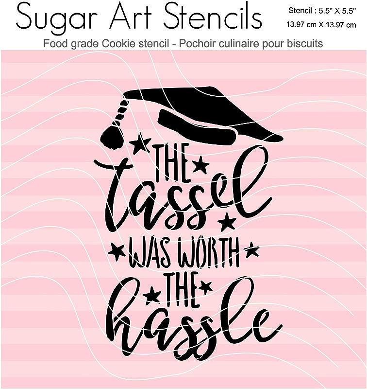 Graduation Words Cookie Stencil Nb900221