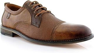 Ferro Aldo Felix MFA19605L Mens Casual Cap Toe Perforated Oxford Dressing Shoes