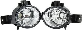 2Pcs For BMW X6 E71 E72 2008 2009 2010 2011 2012 Front Halogen Fog Light Fog Lamp Without Bulbs