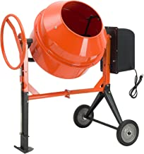 large electric cement mixer