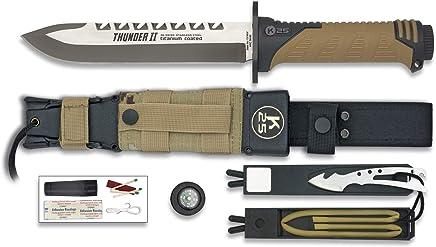 Sand Camo Messer THUNDER II. II. II. Gesamtgröße   29,5 cm B01MFCI2RT | Sonderkauf  4df729