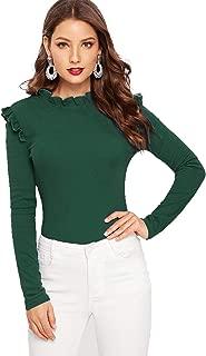 Best women's long sleeve green top Reviews