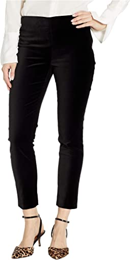 Stretch Velvet Skinny Pants