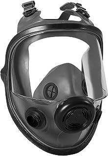 Honeywell North 5400 Series Niosh-Approved Full Facepiece Respirator, Small (54001), Black