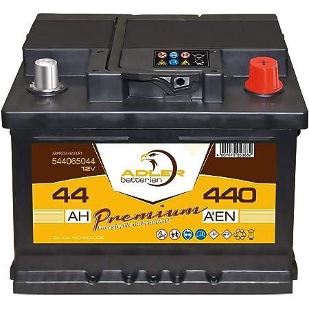 105Ah Autobatterie Starterbatterie KFZ PKW Batterie 105Ah LANGZEIT Starter Serie 12V 44Ah