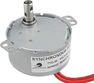 CHANCS Synchronous Electric Motor TYD-50 110V AC 50-60RPM CW/CCW 4W US Stock Torque 0.4Kg.cm