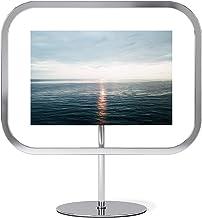 إطار صورة أومبرا إنفينيتي Sqround مستطيل 4x6، عرض صور عائمة للمكتب أو الحائط، 4 × 6، كروم