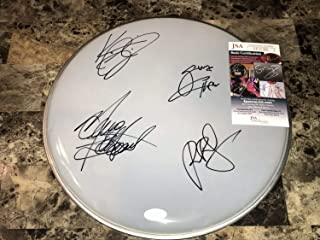 Extreme Band Autographed Signed Memorabilia Drumhead Gary Cherone Nuno Bettencourt Pat Badger K-Figg JSA