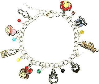 Studio Ghibli Charm Bracelet Quality Cosplay Jewelry Anime Manga Series with Gift Box