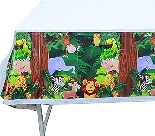 Best jungle safari tablecloth Reviews