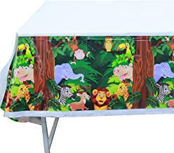 jungle animal birthday party supplies