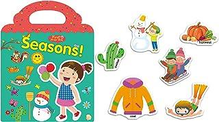 ANKOMINA Kids Stickers Reusable Dinosaur Sea Animals Stickers Book DIY Travel Activity Book Learing Education Toys Stickers