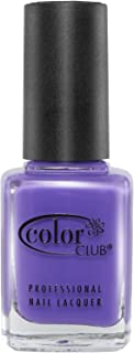 Color Club Poptastic Neons Nail Polish, Purple, Pucci, Licious.05 Ounce