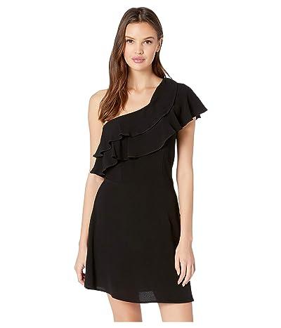 Flynn Skye Claire Mini Dress (Black Rayon) Women