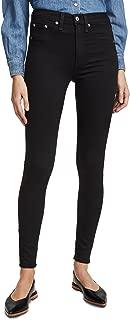Rag and Bone Women's 10 Inch Skinny Jeans Black