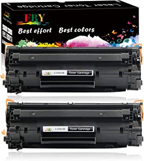 EBY Compatible Toner Cartridge Replacement for Canon 128 CRG128 3500B001AA ImageCLASS D530 D550 MF4570dn MF4770n FAXPHONE L190 L100 MF4880dw MF4890dw MF4450 Printer (Black, 2-Pack)