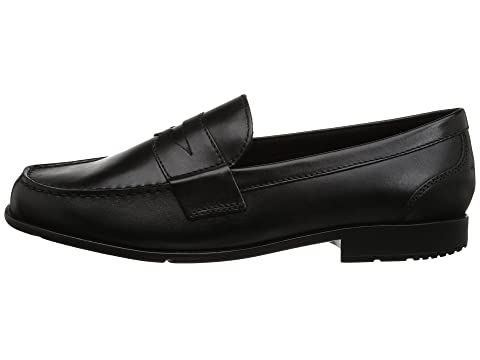 Classic Black Lite Brown Rockport Penny Loafer IICognacDark I04Twdq
