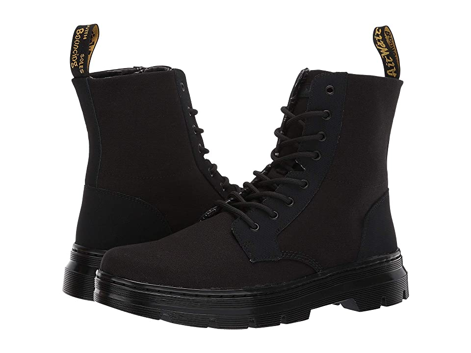 Dr. Martens Combs II (Black/Broder/Canvas) Men