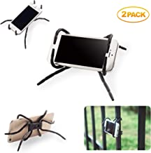 Spider Phone Holder Universal Multi-Function Spider Flexible Grip Holder Phone Car Holder Mount Stand for Smartphone(Black)