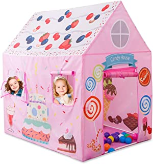 Anyshock Playhouse for Kids Tent, Princess Castle Play House for 1-8 Year Old Children Boys Girls Baby Indoor Outdoor Gifts Toys
