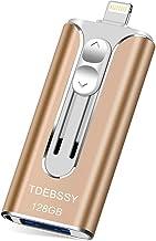 Sponsored Ad - TDEBSSY USB 3.0 Flash Drive 128GB for iPhone iPad The Photo Stick for iPhone 11 Pro XS MAX X XR 8 7 6 Plus ...