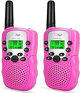ATOPDREAM Friday Long Range Walkies Talkies for Kids D388 - Best Gifts