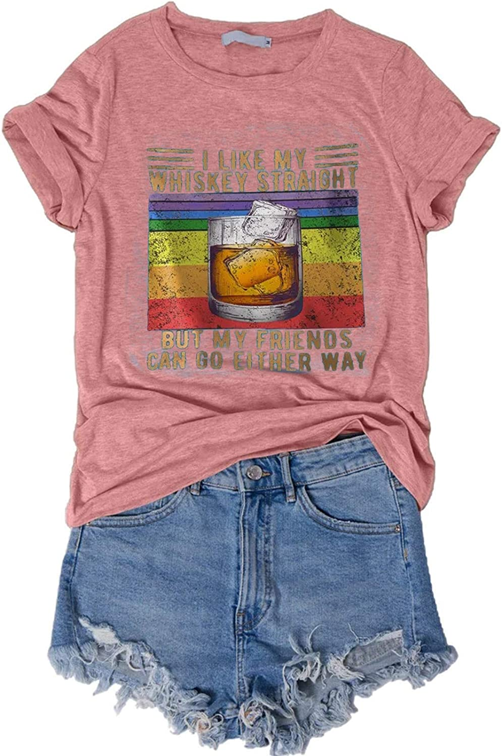 Funny Shirts for Women Discount is also underway 5 ☆ popular with Sayings Graphic - Vintage I Lik Tees