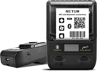 NETUM Label Maker - Portable Bluetooth Thermal Label Printer Apply to Clothing, Jewelry, Retail, Mailing, Barcode, Compati...