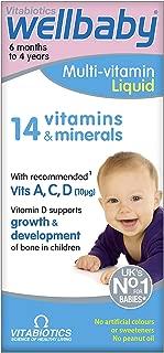 Vitabiotics Wellkid Baby and Infant Vitamins (150ml)